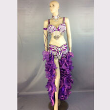 belly dance costume wear stage performance 5-piece suit dancing skirt dress set