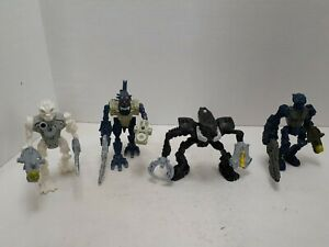 4 Lego Bionicle McDonald's Action Figures (Pre-Owned).