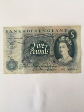 Old Bank of England 5 Five Pound note Very good condition