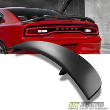 ^2011-2015 Dodge Charger Rear Trunk ABS Factory Spoiler Wing Daytona Matte Black