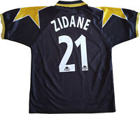 maglia juventus zidane kappa 1995 1996 M away Uefa champions League Jersey