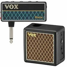 Vox amPlug Series 2 Bass Headphone Guitar Amplifier + 2W Powered Speaker Cabi...