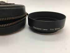 Very good!  PENTAX Metal Lens Hood Shade  F1.4 50MM or F1.8-2 55MM Standard Lens