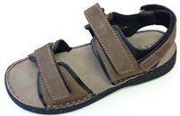 Longo Wörishofen Herren Schuhe Sandale Sandalette 1008620 2 braun Leder