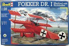 Revell Germany WWI German Fokker Dr.I Tri-Plane fighter Richthofen model 1/28