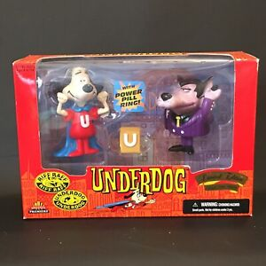 Underdog and Riff Raff 1998 Limited Edition Exclusive Toy Products New in Box