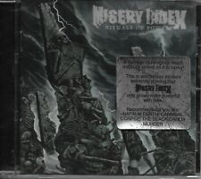 MISERY INDEX-RITUALS OF POWER-CD-grindcore-nasum-lock up-napalm death-aborted