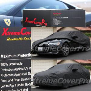 2004 2005 2006 2007 Audi A8 A8L Breathable Car Cover w/MirrorPocket