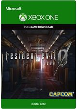 Resident Evil Zero 0 HD Remaster XBOX ONE GAME Digital Download Code (no disc)