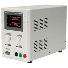 Velleman laboratorio DC Fuente de alimentación de 0-30 VDC/0-5A Max Doble Pantalla Led