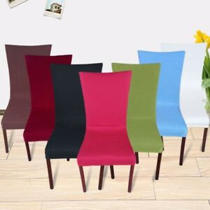 Stretch Chair Covers For Kitchen Dining Bar Hotel Slipcovers Decorations ehd013