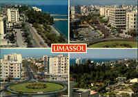 LIMASSOL ZYPERN Cyprus Postcard Postkarte mit 4 Foto-Ansichten Mehrbildkarte