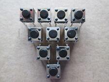 Mikrotaster , Microswitch , Taster 6x6x4,3mm  4Pin Lötanschluss   10 Stück