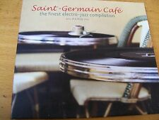 SAINT GERMAIN CAFE CD DIGIPACK THE FINEST ELECTRO JAZZ COMPILATION