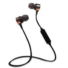 Wireless Bluetooth Sports In-Ear Earphone  Headphone Headset Rechargeable Gold