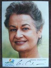 "Ursula Cantieni - Autogrammkarte ""Die Fallers"" Nr. 1"