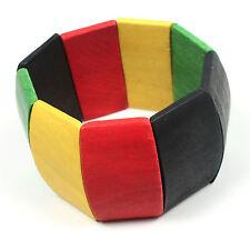 Reggae Rasta Rastafari Bracelet Hawaii Jamaica Africa Marley Lion Reggae 1sz Fit