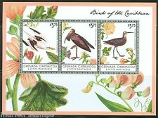 GRENADA GRENADINES  2013 BIRDS OF THE CARIBBEAN  SHEET PART I MINT NH