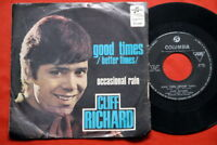 """CLIFF RICHARD GOOD TIMES/OCCASIONAL RAIN 1969 EXYU 7""""PS"""