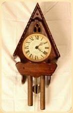 STONEYBROOK Solid Pine CHAPEL Pendulum  WALL CLOCK