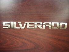 GM OEM Chevrolet Silverado Door Tailgate Chrome  Emblem 1500 2500 3500
