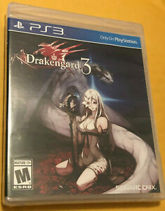 Drakengard 3 (Sony PlayStation 3, 2014) *Brand New, Factory Sealed*