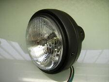 Lámpara faros negro 6 voltios Black headlight ultra XT 250 XT 500 dt 250