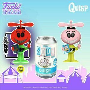 FUNKO POP VINYL SODA QUAKER QUISP Common Pre Order