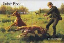 Guinée-bissau Bloc 336 (complète edition) neuf avec gomme originale 2001 Chiens