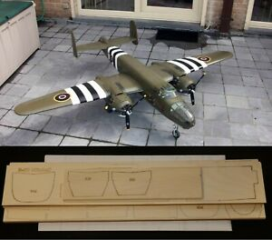 "71"" Ws B-25 MITCHELL R/c Plane partial kit/short kit and plans, PLS READ!"