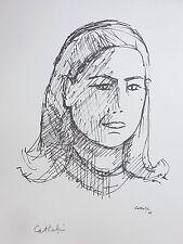 Les Peintres Témoins de leur Temps - Bernard CATHELIN - Estampe signée - 1966