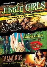 JUNGLE GIRLS 3 Pack: Golden Temple Amazons/Amazonia/Diamonds of Kilimandjaro NEW