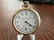 21 Jewel Railroad Pocket Watch Nice 1923 Burlington Limited Approval