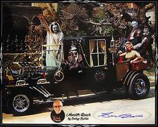 "2015 George Barris Munster Koach LE Signed 16x20 Photo ""Very Rare Oversized"" JSA"