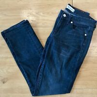 Madewell Slim Boyjean Size 26 Faded Black Wash Denim Jeans
