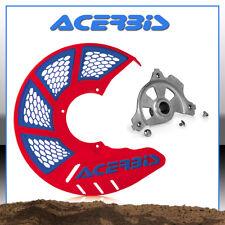 COPRIDISCO ACERBIS X-BRAKE VENTED HONDA ROSSO BLU CRF 250/450 + KIT MONTAGGIO