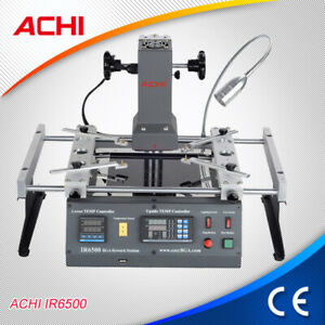 ACHI IR6500 Infrared BGA Rework Station for Motherboardsk +20 in 1 Reballing kit