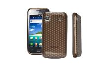 Housse Etui Coque Silicone Gel Noir Diamand ~ Samsung GT i9003 Galaxy S / SL