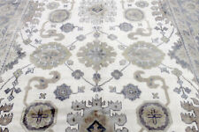 New listing 9X12 Magnificent New Hand Knotted Wool Muted Colors Oushak Turkish Oriental Rug