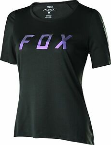 Fox Racing Womens Attack s/s Jersey Black