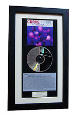 CURVE Cuckoo CLASSIC CD Album GALLERY QUALITY FRAMED+EXPRESS GLOBAL SHIPPING