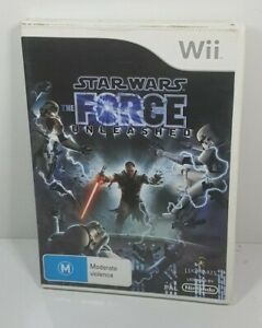 Star Wars The Force Unleashed   Wii PAL Wii U Compatible Game   Free Post