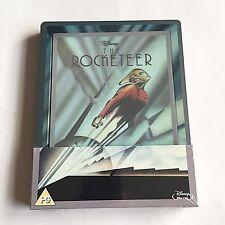 Disney Rocketeer Blu-Ray Steelbook [UK] Lenticular Magnet Design Region Free NEW