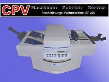 Professionelle Tisch- Falzmaschine SF 305 bis DIN A3 Format, Überholt/ Neuwertig