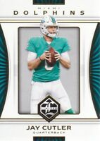 2017 Limited Football #29 Jay Cutler Miami Dolphins