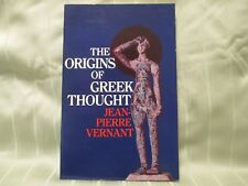 The Origins of Greek Thought by Jean-Pierre Vernant (Paperback)