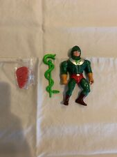 Mattel KING HISS He-Man Masters Of The Universe 1985 Complete Action Figure
