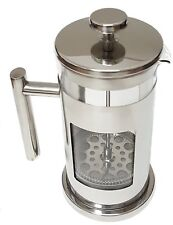 Pod-Brew Stainless Steel & Glass French Press Cafetiere Coffee & Tea Press 1 qt