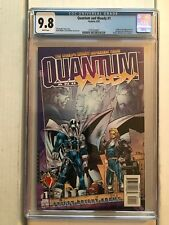 QUANTUM AND WOODY #1 (Acclaim 1997) CGC 9.8 1st Appearance Quantum & Woody! RARE