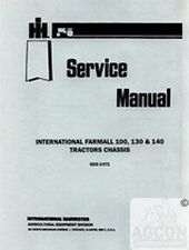 Farmall International 100 130 140 Tractor Chassis Shop Service Manual IH